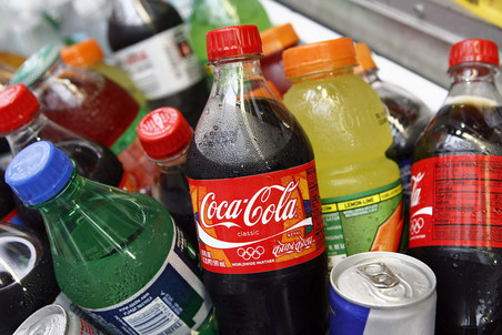 Coca-Cola накапает