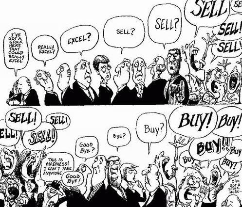 На фондовом рынке