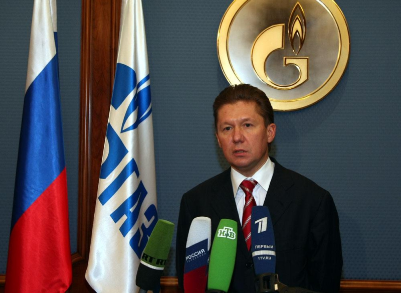 Газпром планирует в 2011