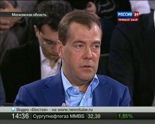 Медведев: чиновников