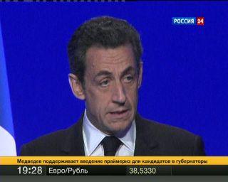 Саркози заморозит взносы