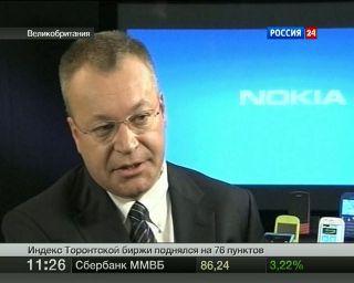 Продажи смартфонов Nokia