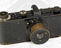 Старый фотоаппарат Leica