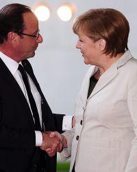 Олланд и Меркель: