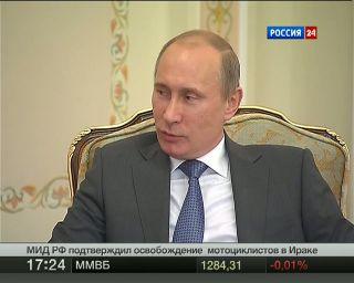 Путин призвал ускорить