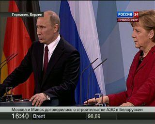 Путин: зависимость от