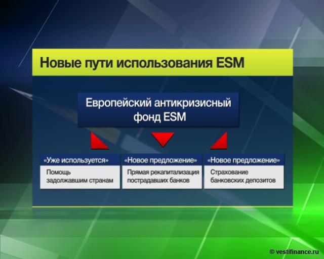 ESM заработает с 9 июля