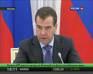 Медведев призвал бизнес