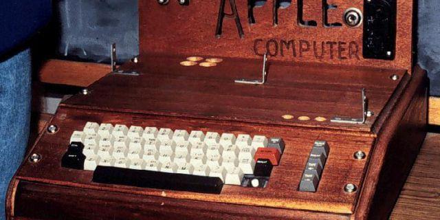 Первый компьютер Стива