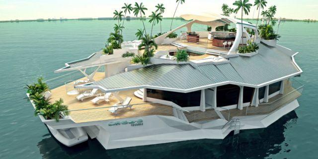 Искусственный остров за