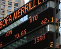 Как биржевой тикер