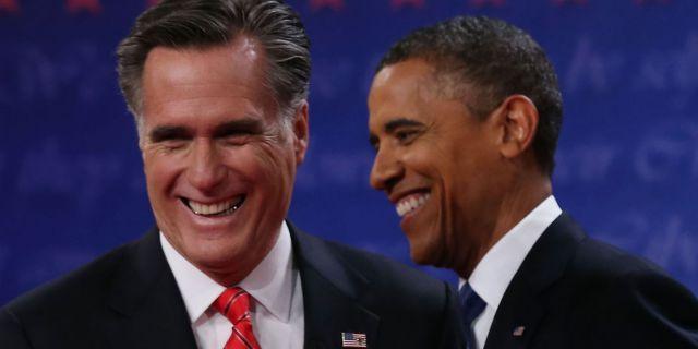 Обама vs Ромни: