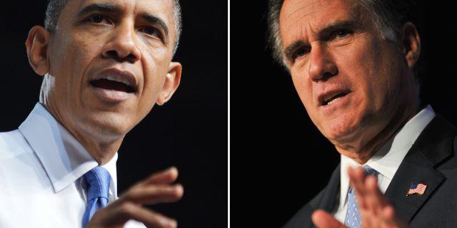 Ромни vs Обама: внешняя