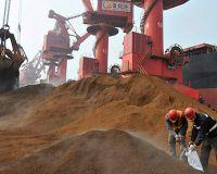 Импорт железной руды в