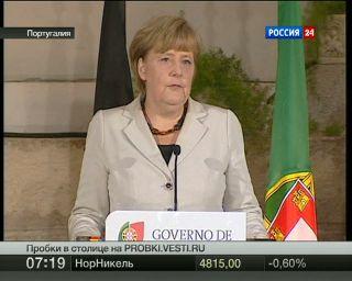 Португальцы: Меркель