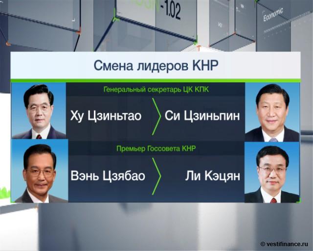 Си Цзиньпин сменил Ху