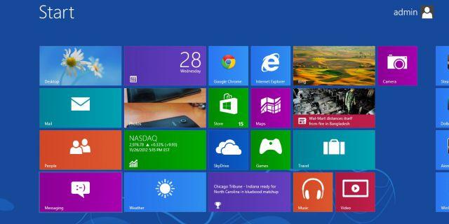 Windows 8 оказалась