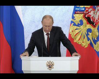 Путин: 100 млрд из