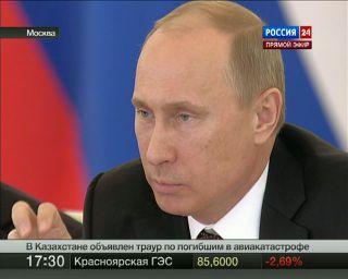 Путин поддержал переход