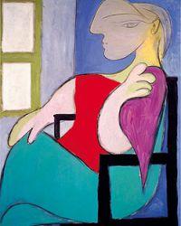 Портрет музы Пикассо