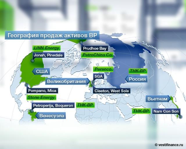 Чистая прибыль BP в IV
