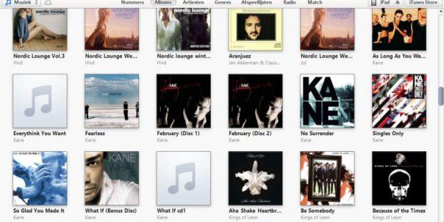 Число покупок в iTunes