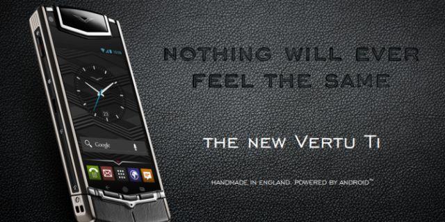 Новый смартфон Vertu на