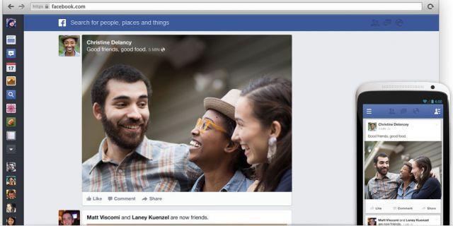Facebook прихорашивается