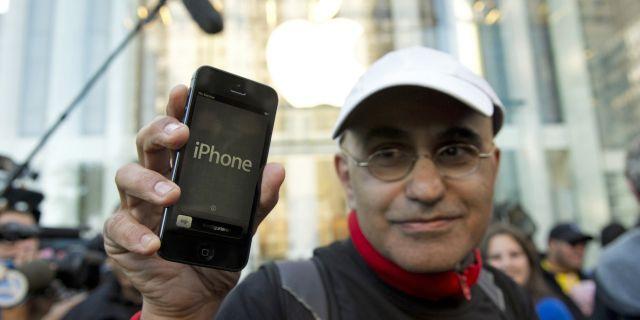 Apple снова обогнала