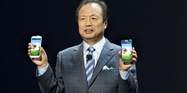 Samsung назначила еще
