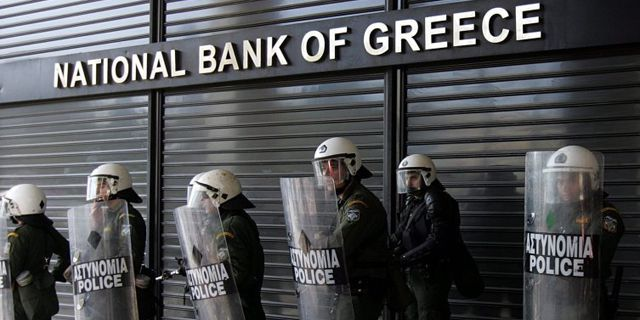 Греция: заблокировано