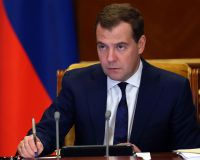 Медведев: РФ снизит