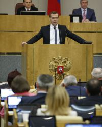 Медведев: форма ОАО не