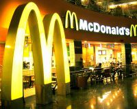 Прибыль McDonald #39;s