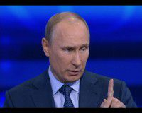 Путин: резкий рост