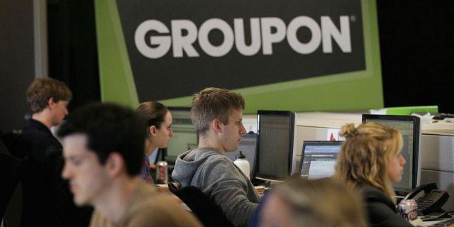 Groupon отчитался выше