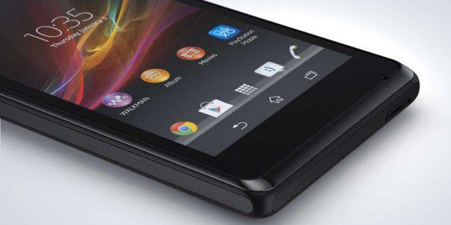 Sony анонсировала Xperia