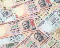 Рупия упала до