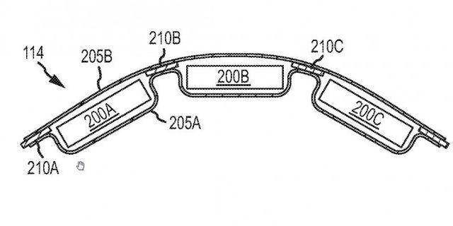 Apple патентует гибкие