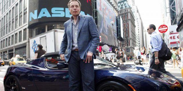 Акции Tesla Motors