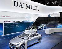 Чистая прибыль Daimler
