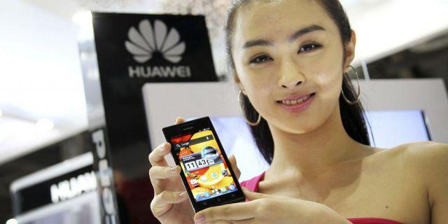 Продажи Huawei выросли