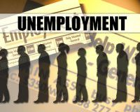 Число безработных в