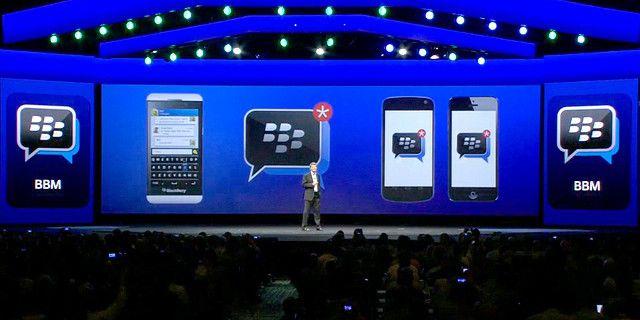 BlackBerry тестирует BBM