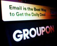 Акции Groupon взлетели