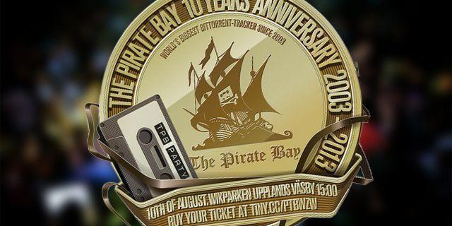 Юбилей у The Pirate Bay: