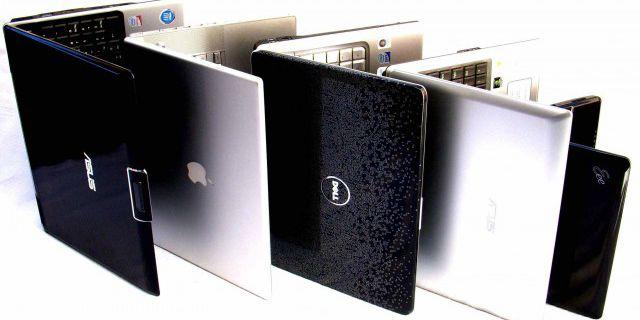 Отгрузки ноутбуков для