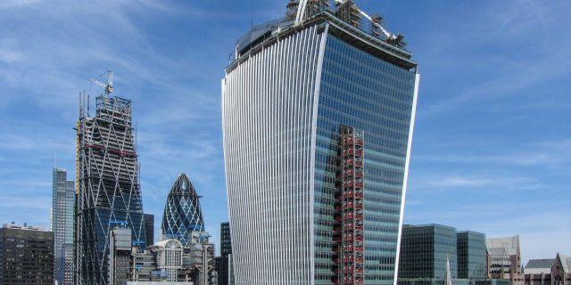 Строящийся в Лондоне