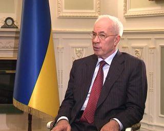 Азаров: украинские