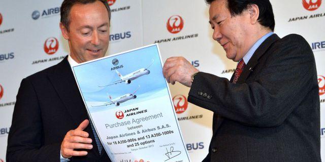 Airbus отбирает у Boeing